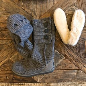 UGG women's classic Cardy knit boots